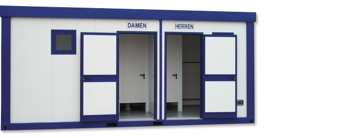 toilettencontainer bieten eine breite einsatzm glichkeit. Black Bedroom Furniture Sets. Home Design Ideas