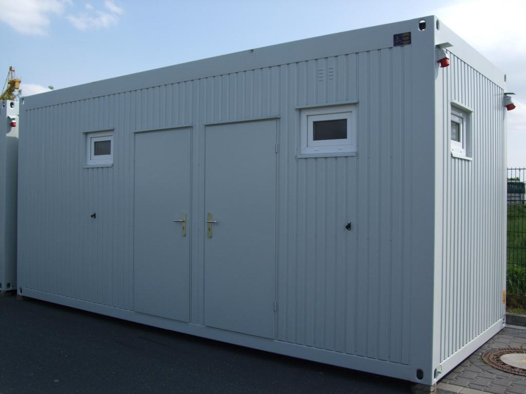 Toilettencontainer, WC-Container, Sanitärcontainer 6,0x2,5m gebraucht