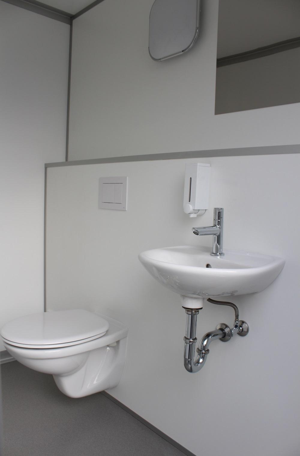 1 1 toilettenwagen wc wagen damen herren neu. Black Bedroom Furniture Sets. Home Design Ideas